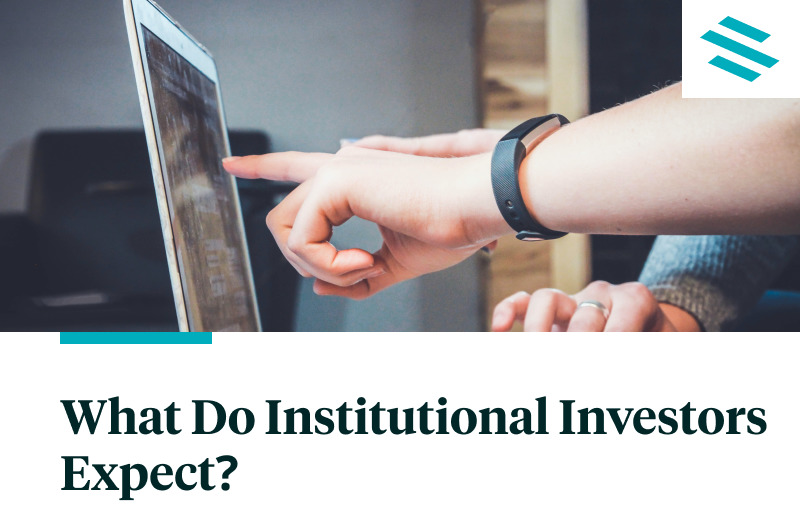 What Do Institutional Investors Expect?